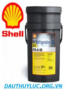 dầu máy nén lạnh Shell