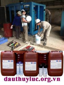thay dầu máy nén khí