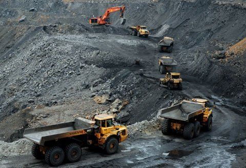 Dầu mỡ công nghiệp cho ngành khai thác than khoáng sản