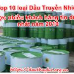 Top 10 loại Dầu Truyền Nhiệt được nhiều khách hàng tin dùng nhất năm 2019